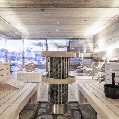 Sauna im Jagdschloss Resort Kühtai - zur Benützung für Gäste und Ferienwohnungsbesitzer